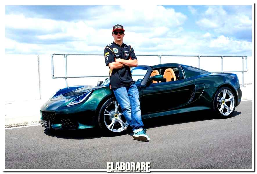 Photo of Raikkonen inaugura la nuova Lotus Exige S Roadster