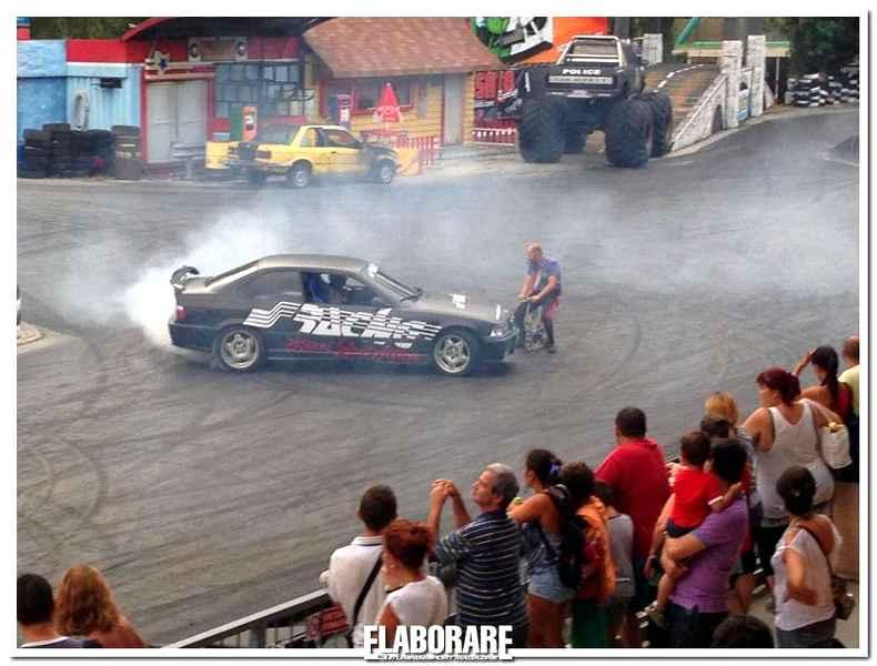 Photo of Mirabilandia show car con Simoni Racing [video]