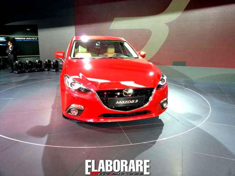 Photo of Mazda3 sotto i riflettori dell'IAA 2013