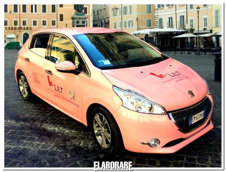 Photo of Peugeot 208 in rosa per aiutare le donne