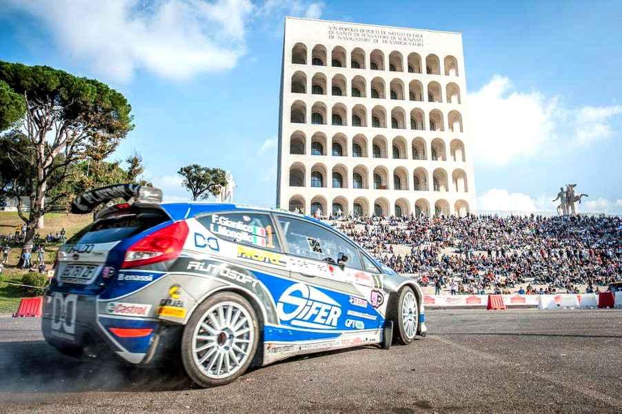 Photo of Una Ford Focus WRC domina il 1° Rally di RomaCapitale