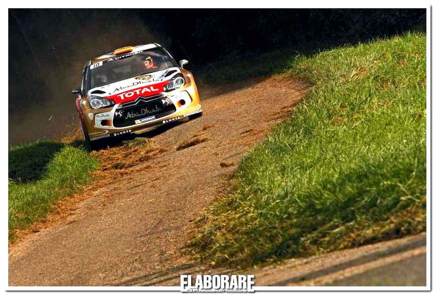 Photo of Citroen DS3 WRC sul podio in Alsazia