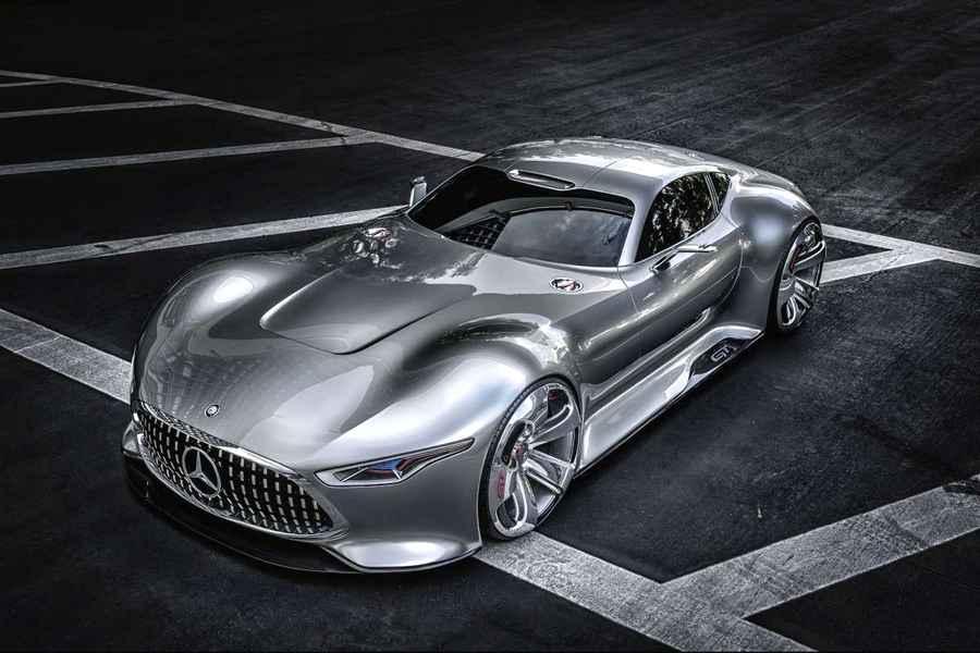 Photo of Mercedes-Benz AMG Vision Gran Turismo su PlayStation 3