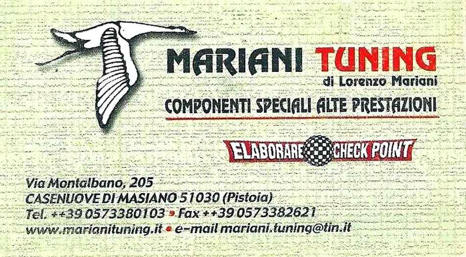 Photo of Mariani Tuning