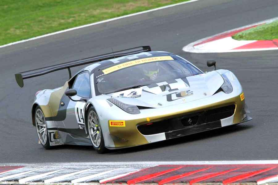 Photo of A Vallelunga la Pole è della 458 GT3 di AF Corse
