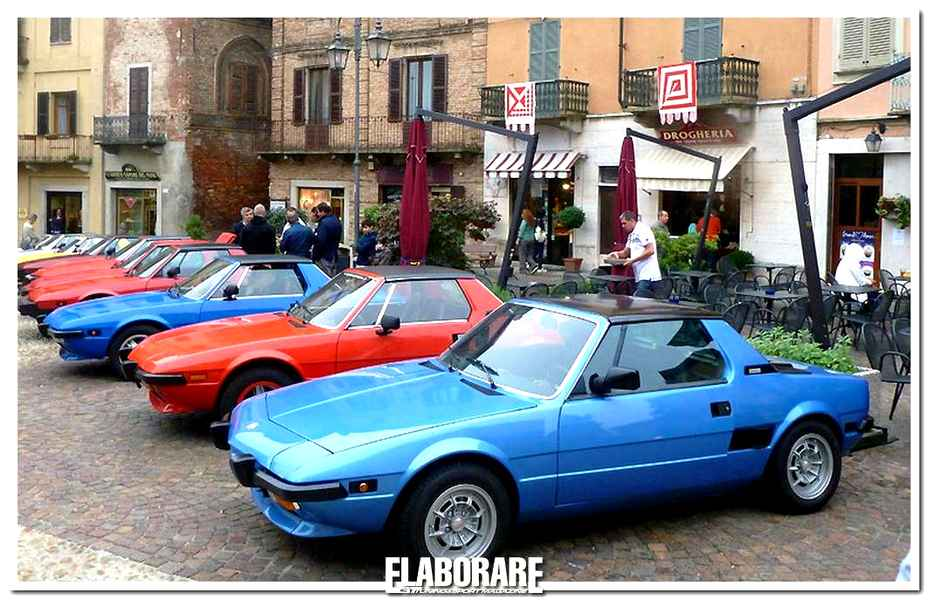 Photo of Cronaca Raduno Club X1/9 Italia