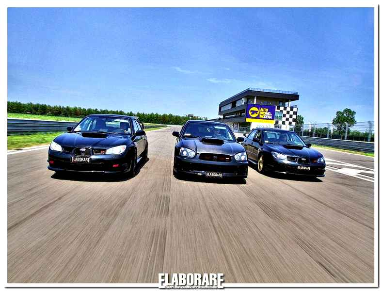 Photo of Subaru Impreza STi preparate da urlo!