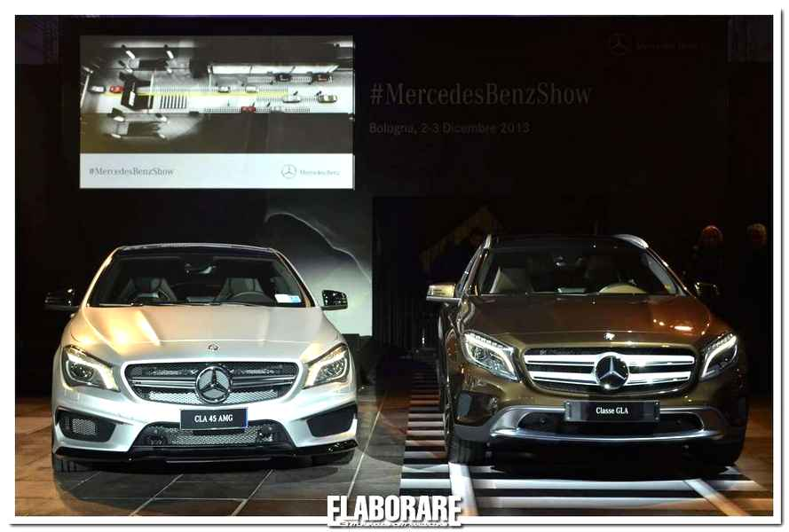 Photo of #Bologna Show. Si fa con la Mercedes GLA e CLA