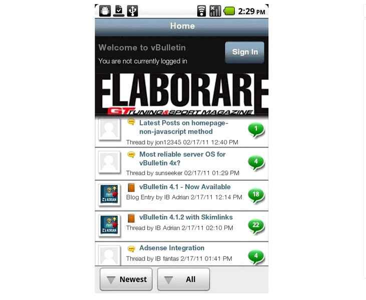 Photo of APP gratuita Android Tuning da Elaborare (Forum)