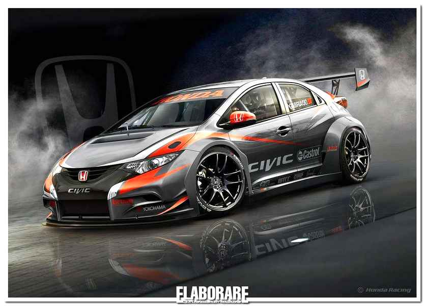 Photo of Nuova Honda Civic WTCC 2014