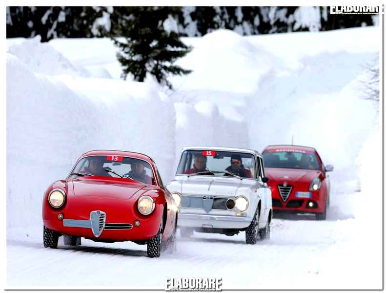 Photo of Auto storiche a Winter Marathon 2014