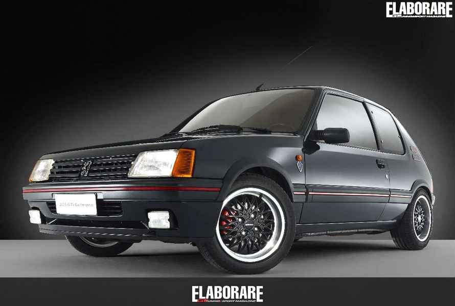 Photo of Peugeot 205 GTI 1.9 GUTMANN
