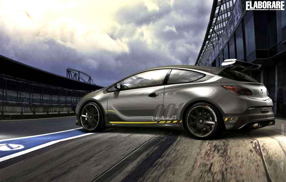 Photo of Opel Astra OPC EXTREME 2014