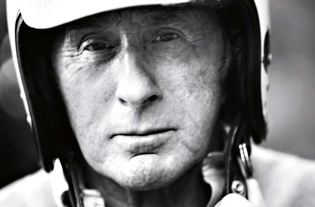 JACKIE-STEWART-with-his-helmet-decorated-in-Scottish-colours-photo-Steve-Read