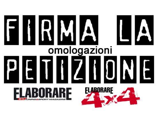 Photo of Petizione raccolta firme omologazioni/certificazioni in Italia