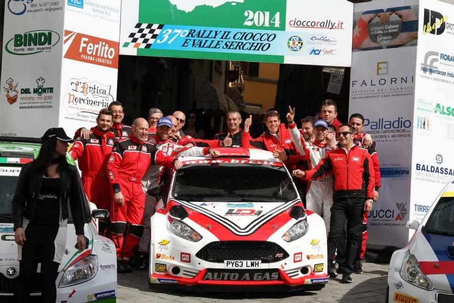 Photo of Fiesta a tutto GAS vince al Rally del Ciocco!