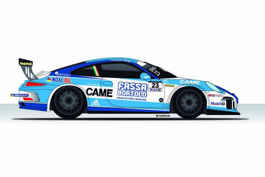 Photo of Thomas Biagi su Porsche Mobil 1 Supercup 2014
