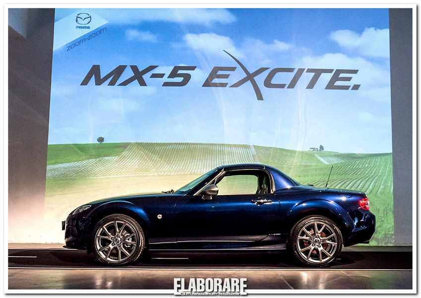 Mazda MX-5 Excite Lato