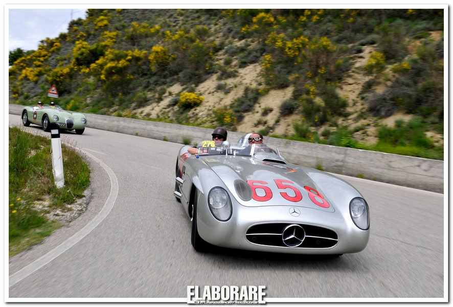 Photo of Mercedes-Benz alla Mille Miglia 2014