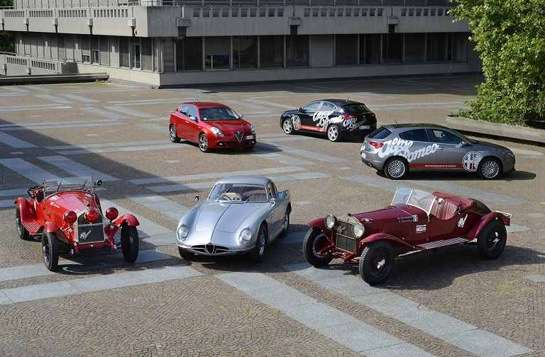 Photo of Mille Miglia al via la storia con Alfa Romeo Jaguar e Mercedes
