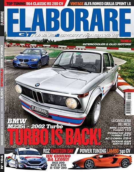 Photo of Coverstory BMW Turbo su Elaborare 194 Maggio 2014 in edicola