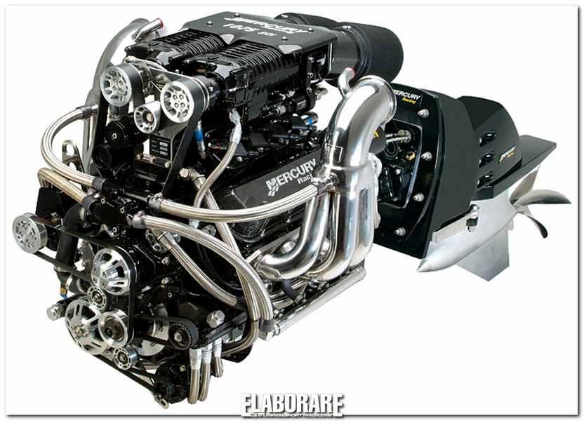 Photo of Motore Mercury V8 elaborazione da 1246 CV