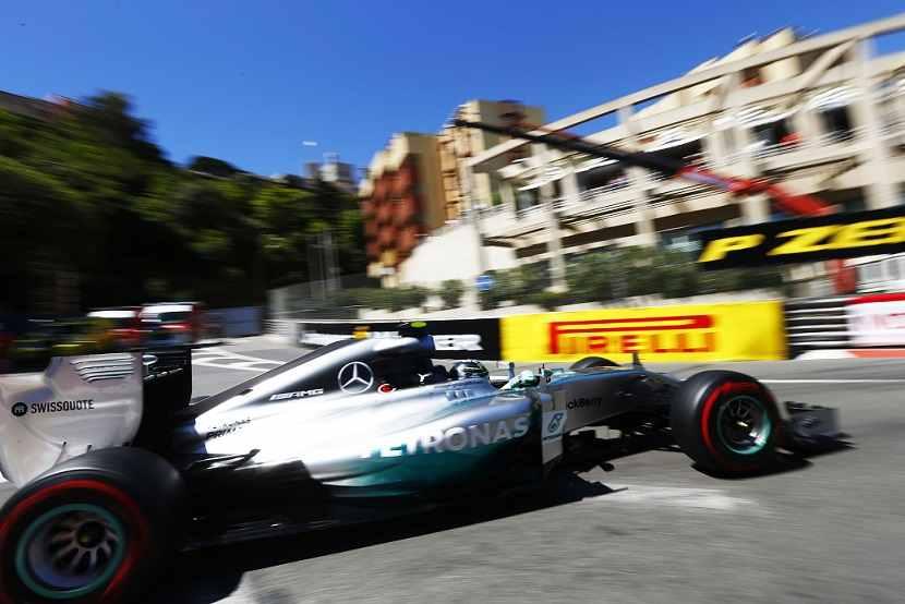 Photo of Formula 1 Rosberg Pole a Montecarlo