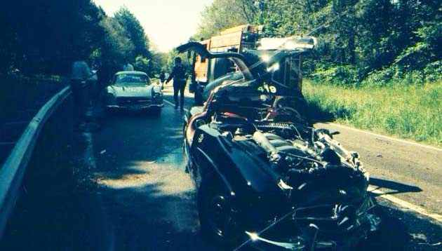 Photo of Incidente e feriti Mille Miglia 2014