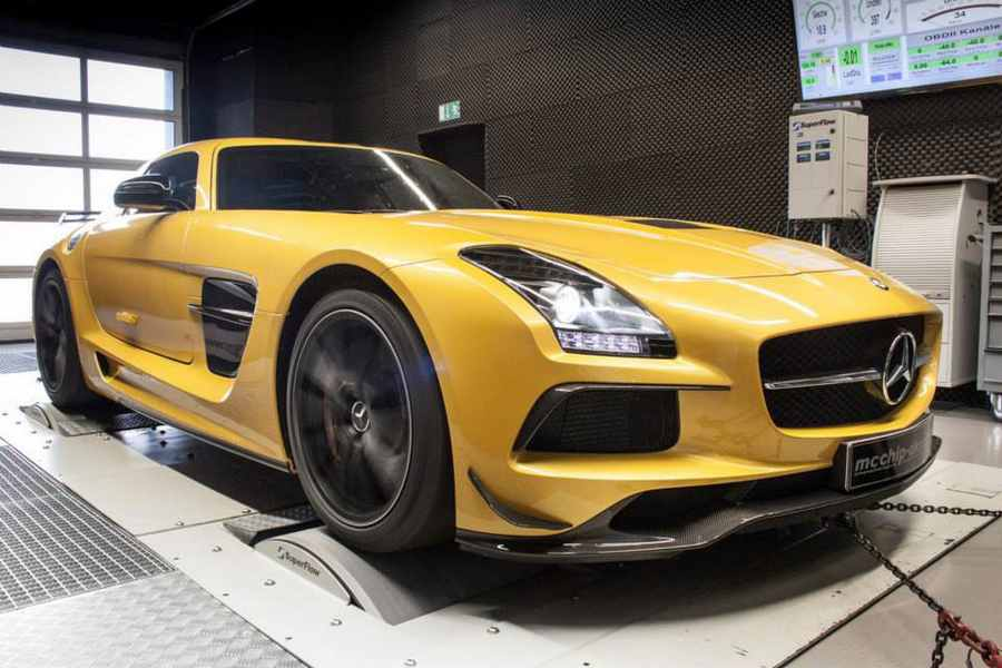 Photo of Tuning Mercedes SLS AMG Black Series da 654 CV