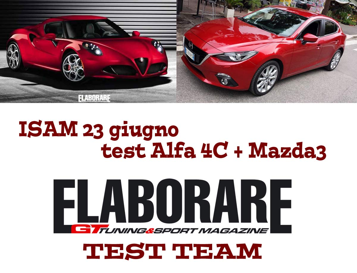 Photo of Test e prove di Alfa4C e Mazda3
