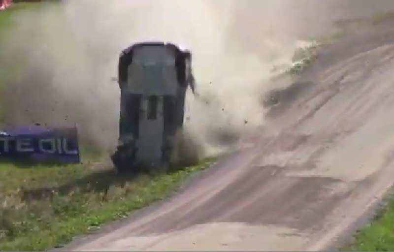 Photo of Video Rally Crash incredibile WRC