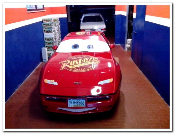 Photo of Chevrolet Corvette C4 Saetta McQueen