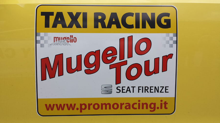 Photo of Taxi Racing con Seat al Mugello
