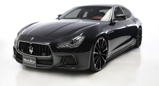 Photo of Tuning Maserati Ghibli bodykit estetico Wald