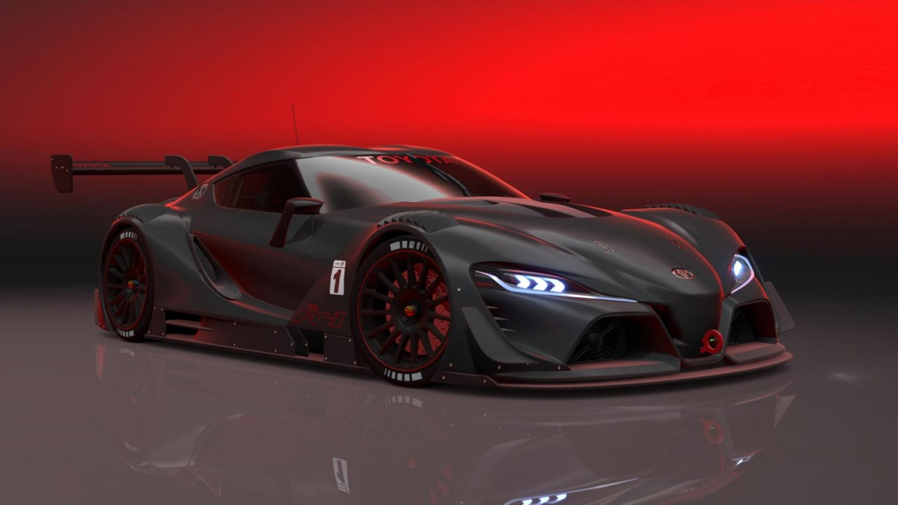 Photo of Toyota FT-1 Vision GT: download Gran Turismo 6