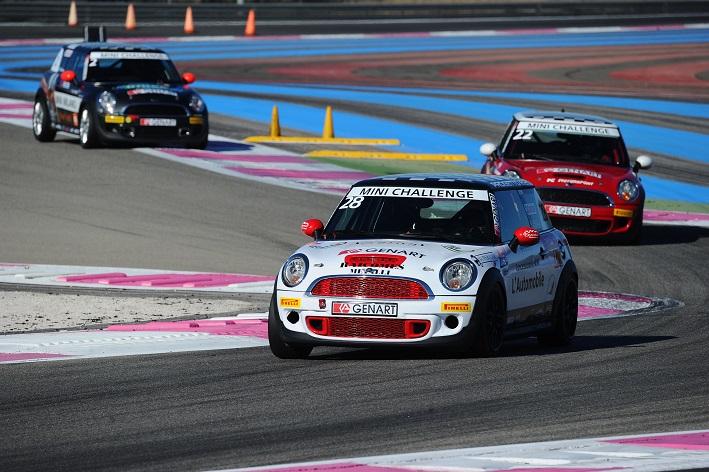 Photo of Mini Challenge 2014 Le Castellet Calcagni campione
