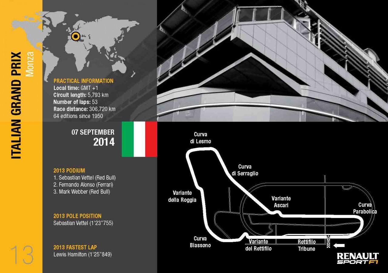 Photo of Gp'Italia il tracciato di Monza