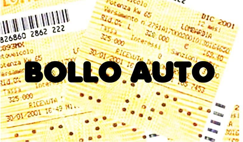 Photo of Abolizione Bollo Auto 2014-2015