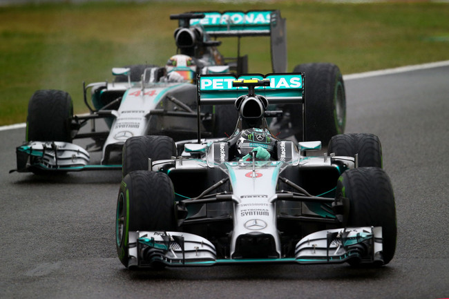 Photo of Mercedes Suzuka 2014