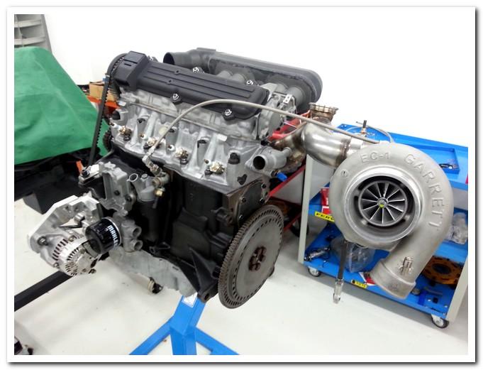 Photo of Fiat Uno Turbo elaborazione motore