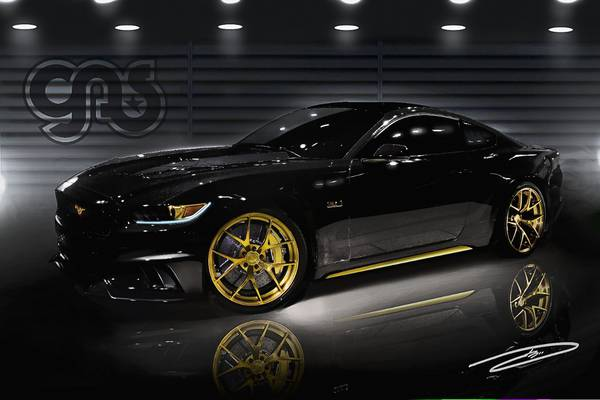 Photo of SEMA SHOW Ford Mustang