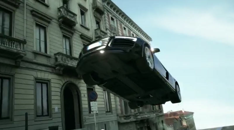 Photo of Audi R8 salto incredibile volo!