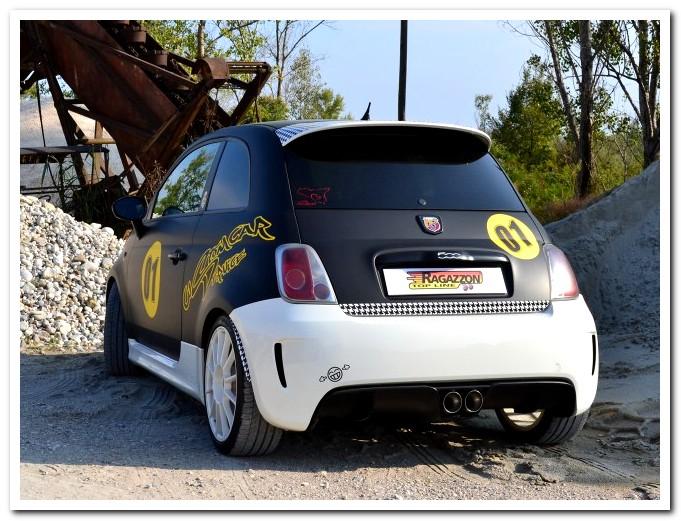 Photo of Scarico sportivo per Fiat Abarth 595