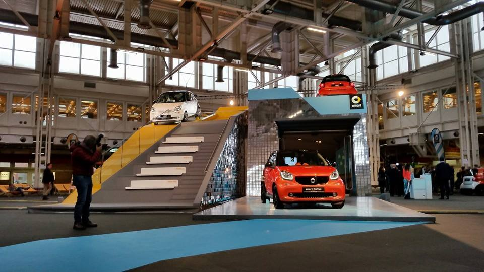 Photo of La nuova smart al Motor Show di Bologna