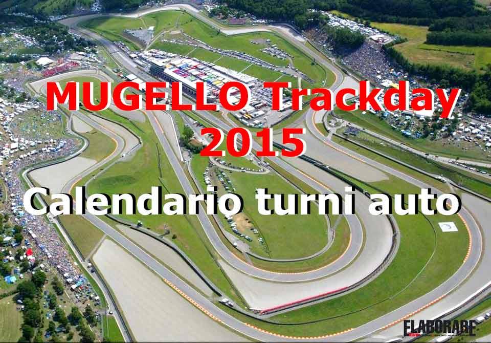 Photo of Trackday Mugello 2015 Turni Pista Auto