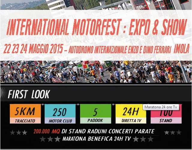 Photo of International Motorfest 22-24 Maggio a Imola