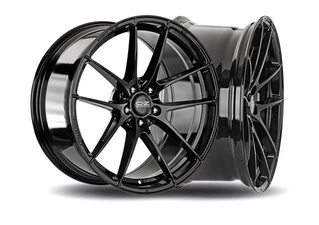 Ruota-in-lega-Leggera-Gloss Black-OZ-Racing