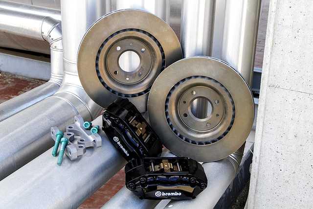 DS3 impianto frenante Brembo