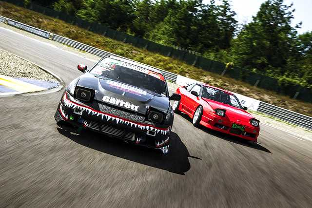 Photo of Nissan S13 test drifting e tuning