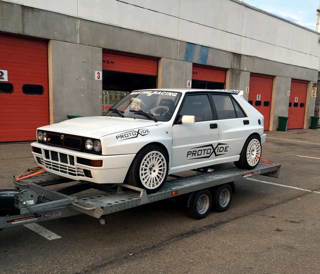 Photo of Lancia Delta elaborazione 600 CV!